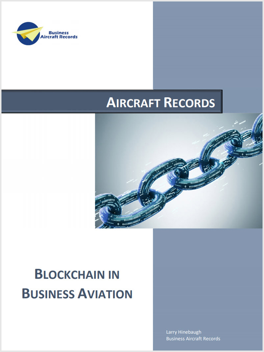 Blockchain in Business Aviation
