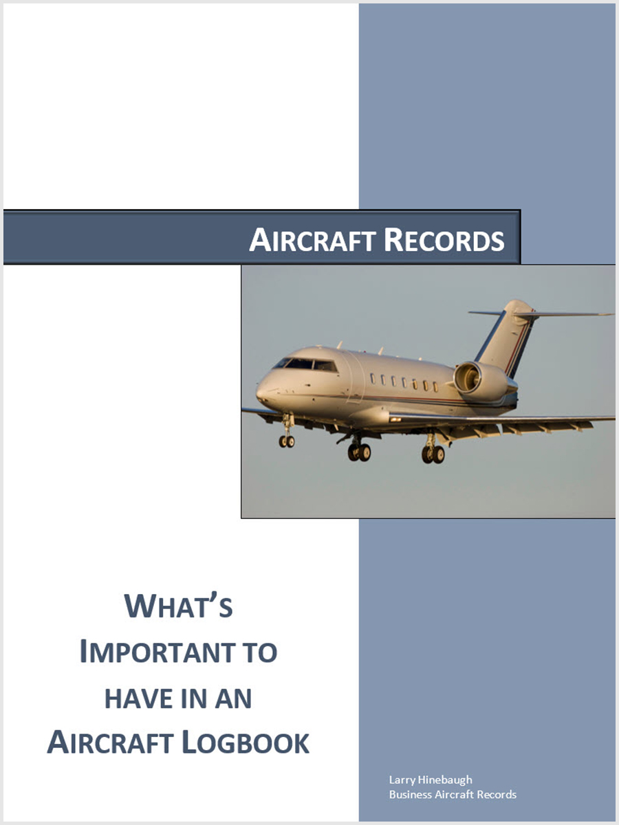 What's Important To Have In An Aircraft Logbook